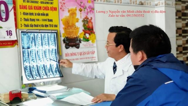 Thuốc đặc trị thoát vị đĩa đệm của lương y Nguyễn Văn Minh