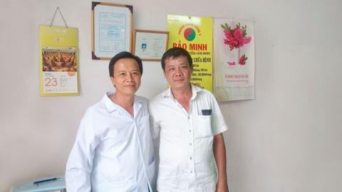 Tôi đã khỏi bệnh thoát vị đĩa đệm cột sống cổ nhờ lương y Nguyễn Văn Minh chữa trị.