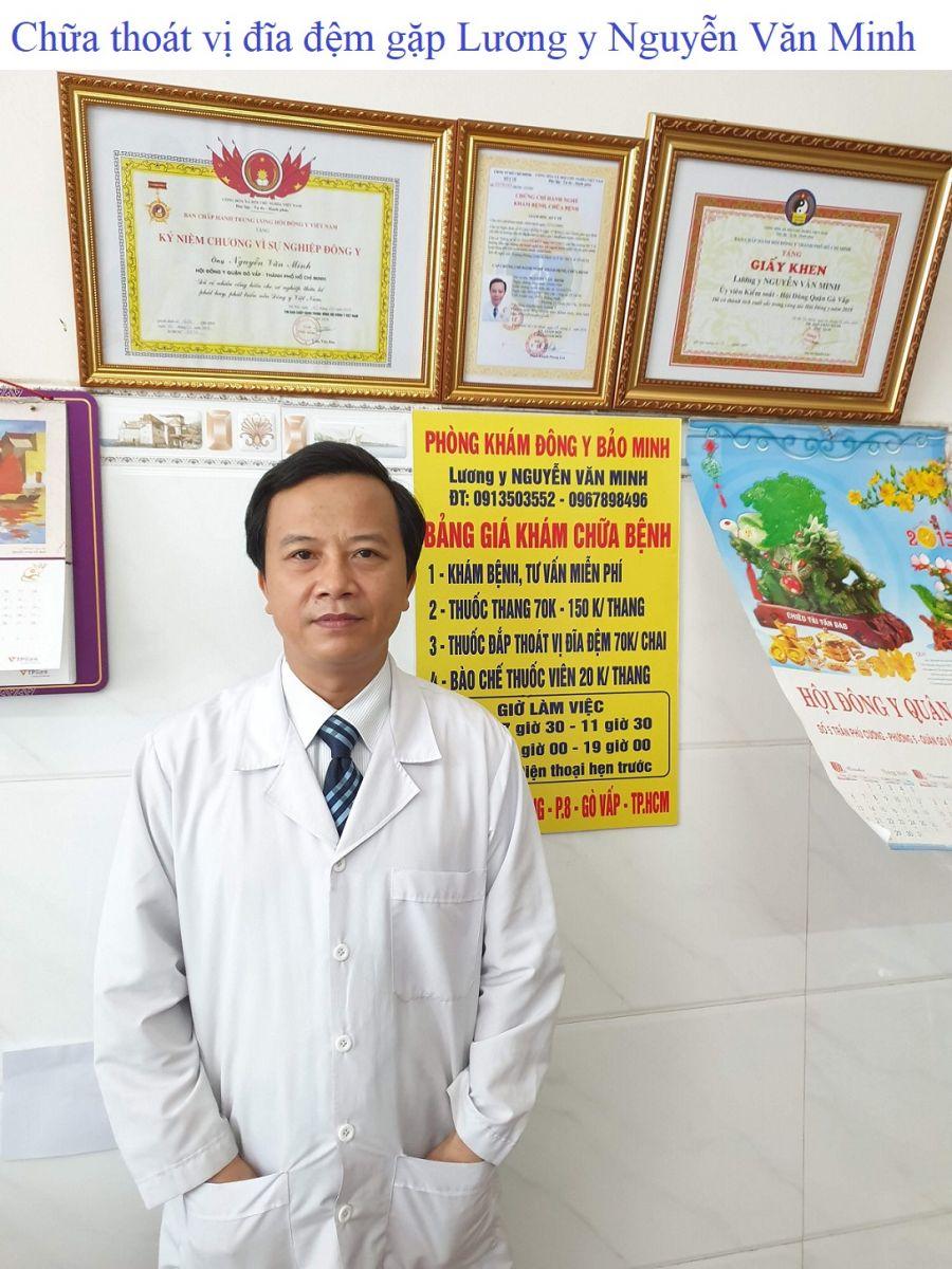 Chữa thoát vị đĩa đệm gặp Lương y Nguyễn Văn Minh