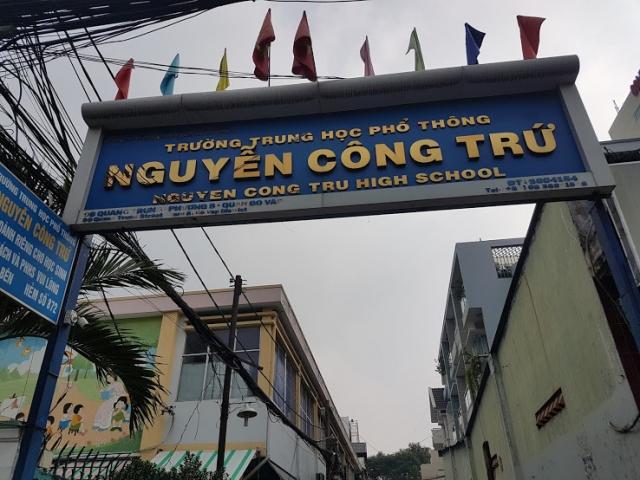 Phòng khám đông y Bảo Minh đi vào hẻm trường Nguyễn Công Trứ